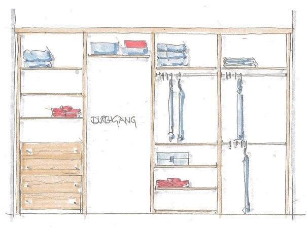 Begehbarer Kleiderschrank | Ankleide 3 2