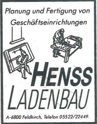 Firmengeschichte | Henss Ladenbau Firmenlogo