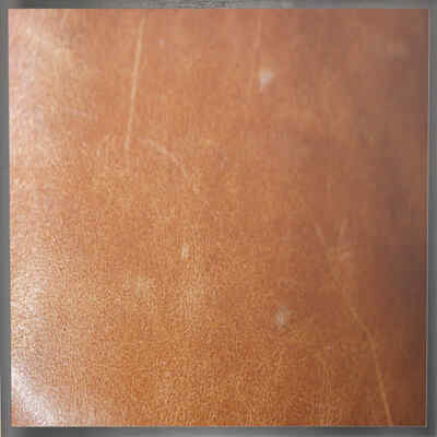 Stoffe-Leder-Sondermaterial | Bespannung Leder Hellbraun Glatt