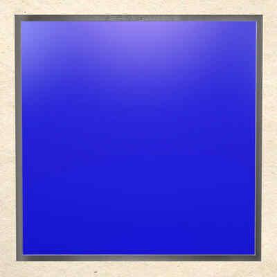 Acrylglas-VSG-ESG | Glas Acryl Blau Satiniert