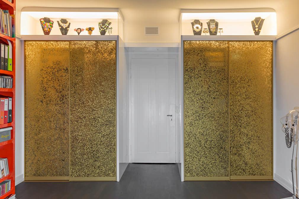 Goldene Schiebetüren Zürich 1