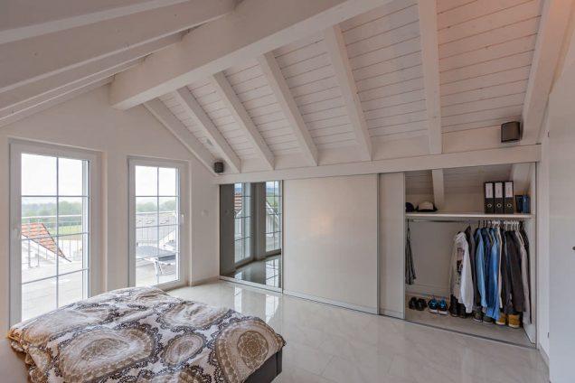 Schlafzimmer Dachschrägenschrank 0
