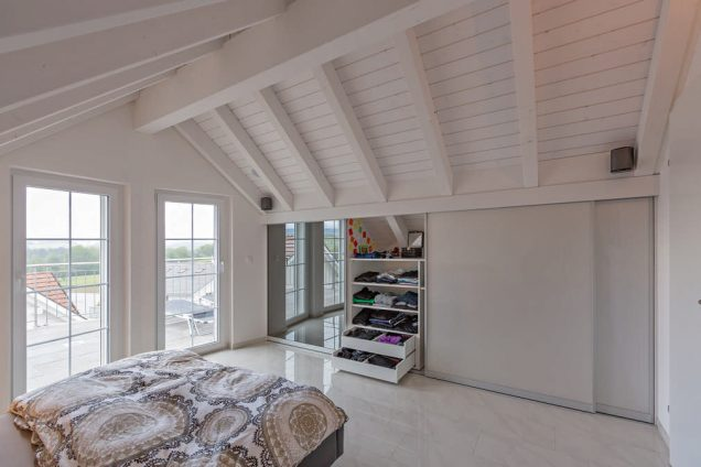 Schlafzimmer Dachschrägenschrank 1