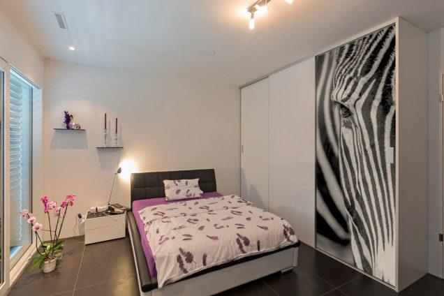 Schlafzimmerschrank mit Fotomotiv 0