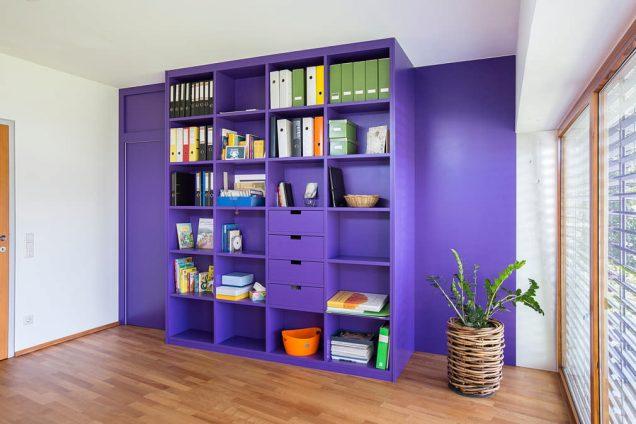 Wohnwand Violett Koblach