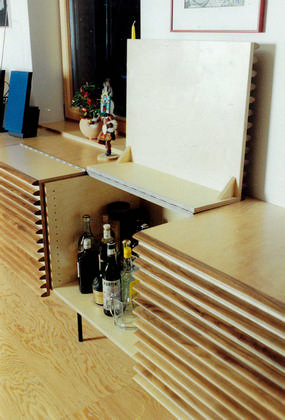16 Rustikale Designer Bar